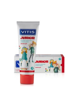 Vitis Junior Tandgel, 75ml