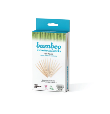 Humble Brush Bamboe Tandenstokers, 100 Stuks