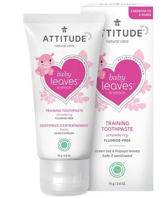 Attitude Fluoridevrije Tandpasta Kind, 75ml