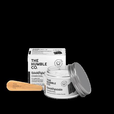 Humble Brush Zero Waste Tandpasta In Een Potje, Charcoal, 1 Stuk