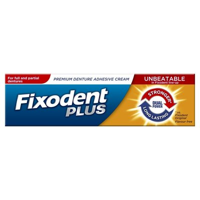 Fixodent Kleefpasta Plus Dual Power, 40 gram