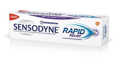 Sensodyne Rapid Relief Tandpasta, Gevoelige Tanden, 75ml