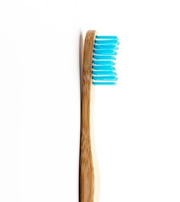 Humble Brush Bamboe Tandenborstel, Soft, Blauw, 1 Stuk
