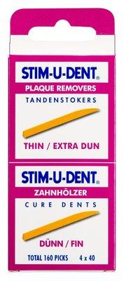 Stimudent Stokers Dun, 160 Stuks