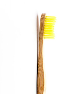 Humble Brush Handtandenborstel, Soft, Geel, 1 Stuk