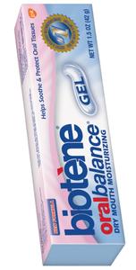 Oral Balance Biotene Gel, droge mond, kanker, droge mond chemotherapie, droge mond, pijnlijke mond, tandvlees onrustig, ontstok